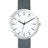River Island Minimal Grey Watch at asos.com