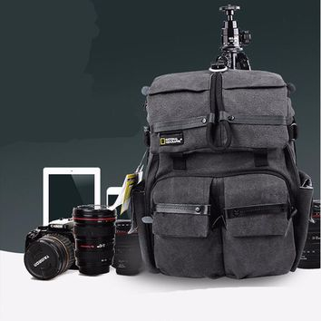 100% New High-quality National Geographic NG W5070 Camera Backpack Shoulder Bag Rucksack