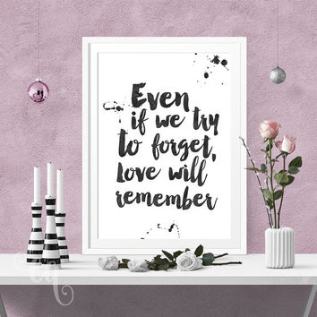 Wall art decor, Selena Gomez quote, minimalistic typography poster