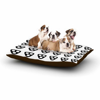 "Trebam ""Kubus"" Black White Dog Bed"