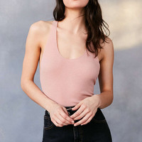 Out From Under So Simple Ribbed Tank Top - Urban Outfitters