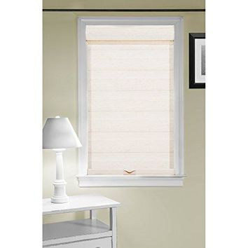Ben&Jonah Collection Cordless Celestial Sheer Double Layered Shade 27x72 - Linen