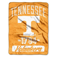 Tennessee Volunteers NCAA Micro Raschel Blanket (Varsity Series) (48x60)