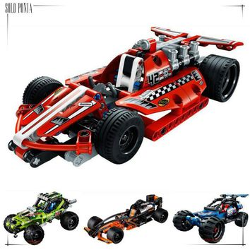 160 pcs Pull back Car Model Building Kits Building Block Baby Boy Building Model 4 Choice Vehicle Block juggle Toy bricks N338