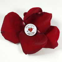 """Dear Cupid Enamel Pin, Free Shipping on all order over 30 dollars with code """"free30"""""""