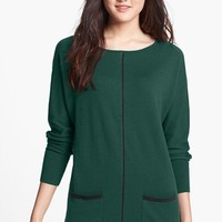 Halogen® Dolman Sleeve Tunic Sweater (Regular & Petite) | Nordstrom