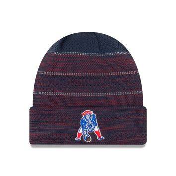 New England Patriots NFL17 Sideline Cuffed Knit Hat By New Era