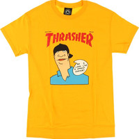 Thrasher Gonz Cover Tee Small Gold