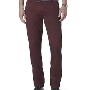 Dockers Alpha Khaki Pants - Red,Tan - Men's