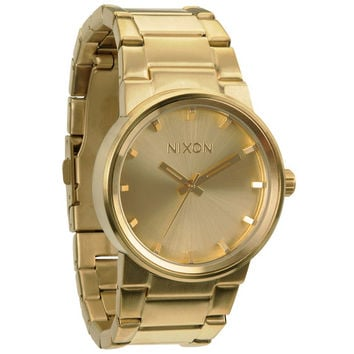 Nixon The Cannon Watch All Gold One Size For Men 20297662101