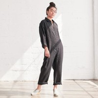 Beatrice Valenzuela Black Picasso Jumpsuit at General Store
