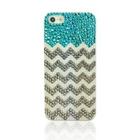 Beach & Wave Rhinestone Handmade Case For iPhone 5/5s