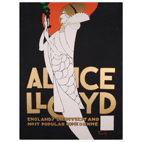 American Theatre Poster from a Alfonso Iannelli Design of 1915
