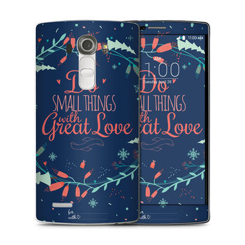 Do the Small Thing with Great Love Skin for the LG