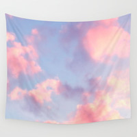 Whimsical Sky Wall Tapestry by jessmorris