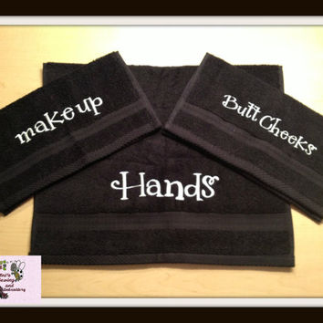 FUN GIFT personalized Washcloth or Hand Towel