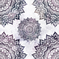 Jewel Mandala Removable Wallpaper