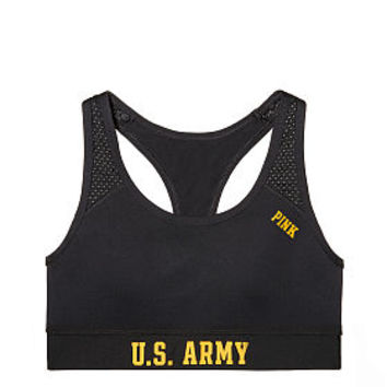 Army Logo Crop Bra - PINK - Victoria's Secret