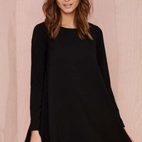 Nasty Gal Mood Swing Dress - Black