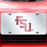"Florida State License Plate Inlaid 6""x12"""