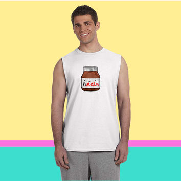 Nutella Sleeveless T-shirt