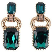 ROBERTO CAVALLI Jewelled Earrings - Flannels