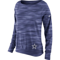 Dallas Cowboys Nike Womens Warpspeed Epic Crew Sweatshirt – Navy Blue