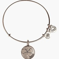 Women's Alex and Ani 'Friend' Expandable Wire Bangle