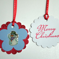 Holiday Gift Tags - Snowman