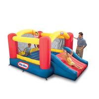 Little Tikes Jump 'n Slide Inflatable Bouncer - Little Tikes 1001284 - Inflatable Bouncers - FAO Schwarz®