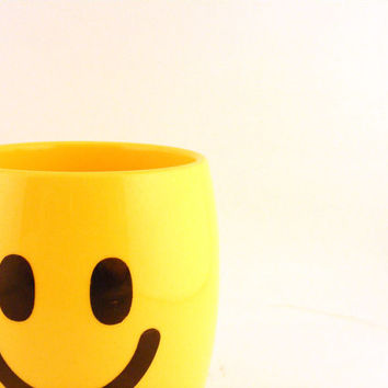 Carnation Coffee Mate Smiley Face Mug Melamine Nestle Visionusa