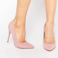 Public Desire Josie Pink Court Shoes at asos.com