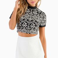 Name That Tribal Crop Top $35