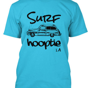 Men's Surf Hooptie LA Vintage Woodie Shirt