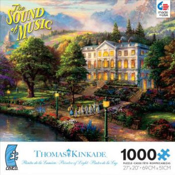 Ceaco - Thomas Kinkade WB Classics Collection - The Sound of Music Puzzle