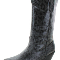 Nomad Sunline Womens Western Cowboy Boots Leopard Print