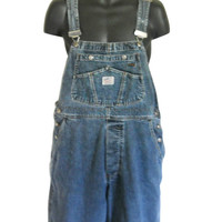 Men Overall Shorts Denim Overall Dungaree Blue Jean Overalls Over Alls Bib Overall Jean 90s Overall Denim Shortall Men Clothing 90s Clothing