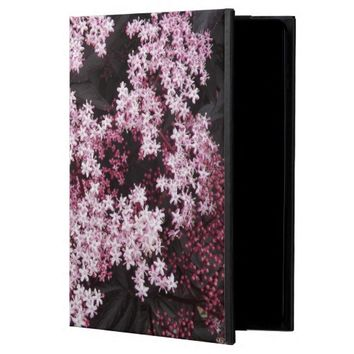 Black Lace Elderberry Floral Powis iPad Air 2 Case