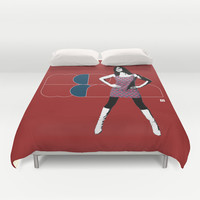 Mod Woman Duvet Cover by Matt Irving