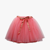Vierra Rose Tiffany Pop Color Tutu in Coral - FINAL SALE