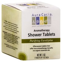 Aura Cacia® 3 oz. Purifying Aromatherapy Shower Tablets in Eucalyptus