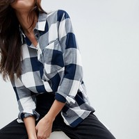 JDY check shirt at asos.com