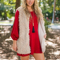 The Shaggy Vest, Natural