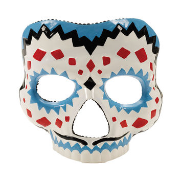 Creepy Scary Costume Day Of The Dead Male Mask