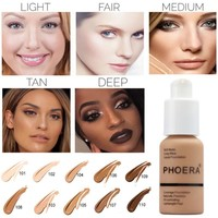 Concealer Facial Base Base Liquid Foundation Makeup Full Coverage Concealer Whitening Primer BB Cream Waterproof Lasting