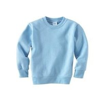 Rabbit Skins Toddler Crewneck Sweatshirt 2t - Light Blue
