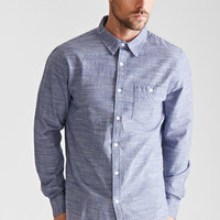 Marled Button-Down Shirt