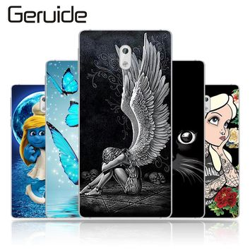 "Geruide Painting Cover For Nokia 3 Case For Nokia Silicone Cover Soft TPU Coque For Nokia 3 Cover 5.0"" Mobile Phone Bag"