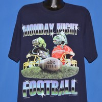 90s Monday Night Football Bud Light Chameleon t-shirt Extra Large