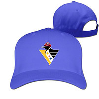 ZULA Cute Unisex Pittsburgh Football And Ice Hockey Team Mixed Baseball Visor Cap RoyalBlue